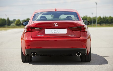 Forbuden turbofrugt fra Lexus