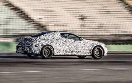 Nye fotos af Mercedes-AMG C 63 Coupé. Igen.