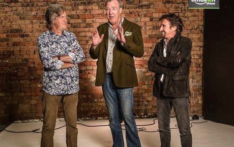 Top Gear-værterne samlet igen – på Amazon Prime