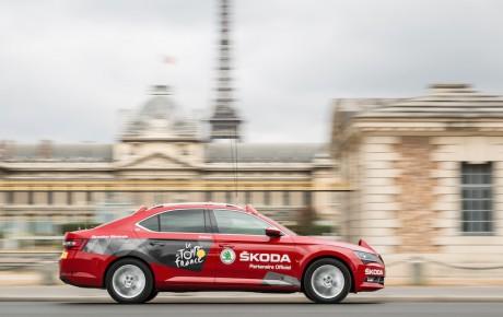 Skoda fejrer Tour de France med kampagnemodeller