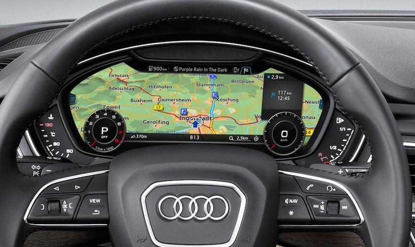 Virtuelt cockpit i Audi A3 fra næste år