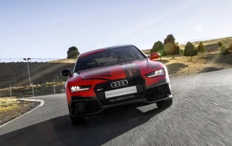 Selvkørende Audi A8 i 2016