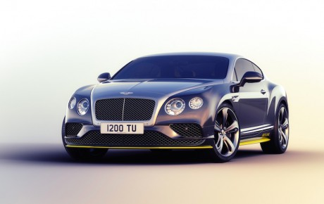 Syv Bentley Continental GT Speed på vingerne