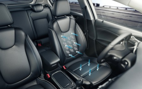 Det bedste sæde i Golf-klassen bliver i Opel Astra