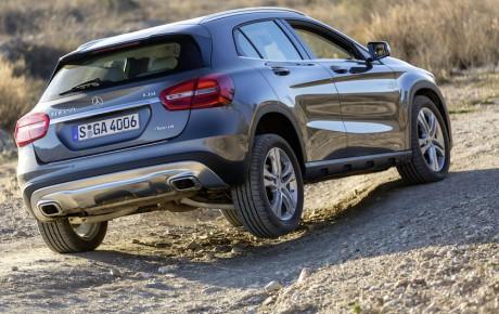 Mercedes-Benz ændrer på B-Klasse, CLA og GLA
