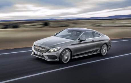 Ny Mercedes-Benz C Coupé - kanterne er væk