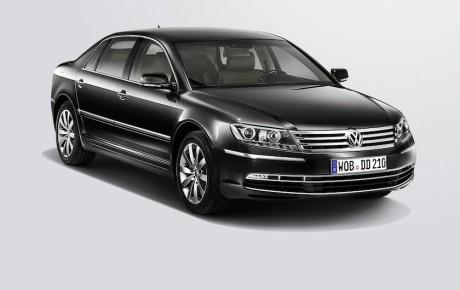 Volkswagen Phaeton forsinket