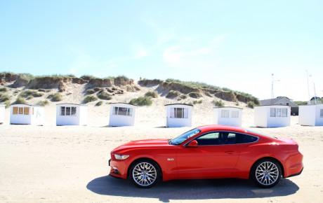 Drømmen om Mustang slippes løs i Danmark