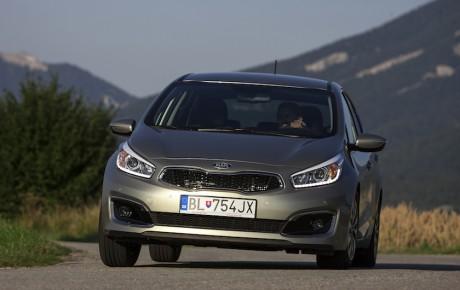 Faceliftet Kia Cee'd - med ny turbomotor fra 194.999 kr.