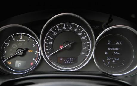 CX-5 topmodel når ikke helt til tops