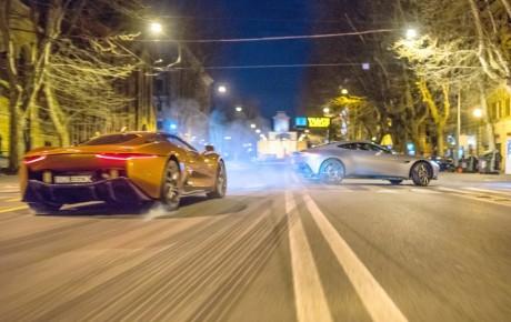 Vilde biler i ny Bond-film