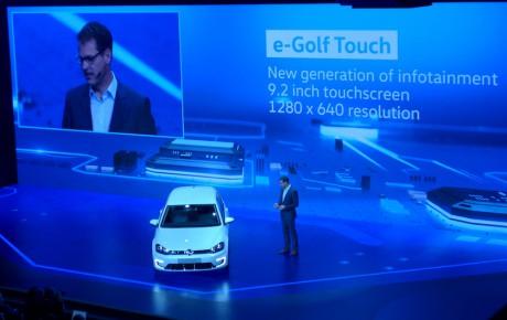 """Golf med 9,2"""" skærm og bevægelsesstyring kommer i år"""
