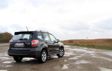 Subaru Forester - rå og blød på samme tid