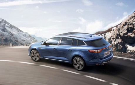 Ny Megane Sport Tourer i god form