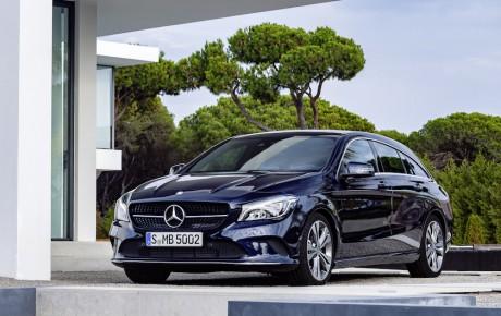 Faceliftet Mercedes-Benz CLA - 89 gram CO2