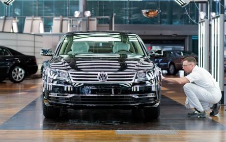 Farvel til VW Phaeton - efter 14 år er det slut