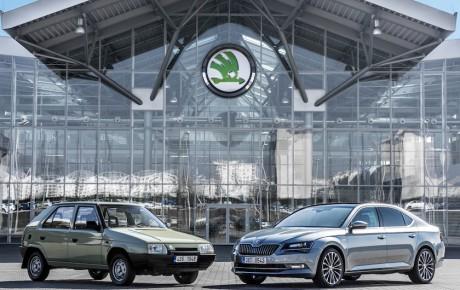 Skoda og Volkswagen fejrer 25 år som lykkeligt ægtepar