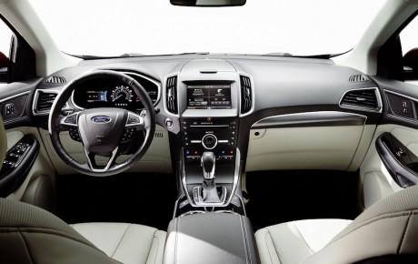 Priser på den nye Ford Edge - i Audi Q5-farvande