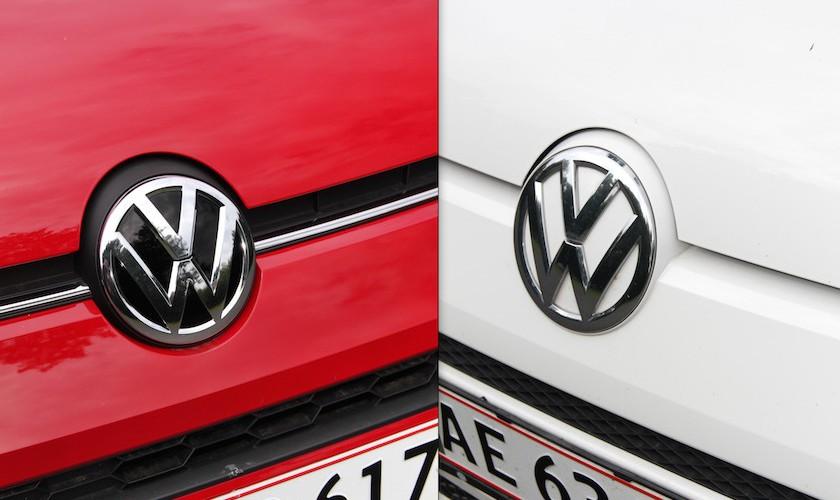 Up-gradering eller status quo? Ny VW Up mod gammel VW Up