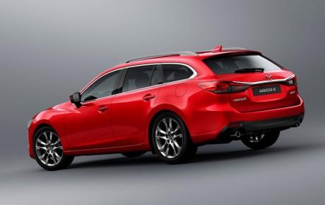 Mazda 6 under kniven igen - teknisk facelift