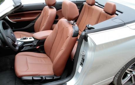 Cruiser-cabriolet med skuffende motor