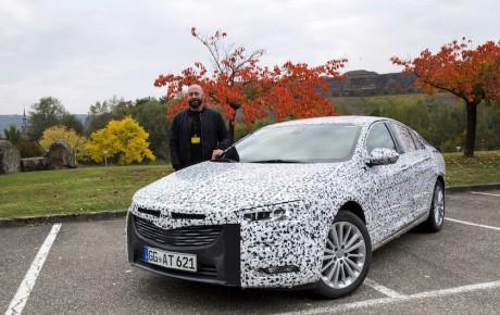 Under camouflagen: En ny og lettere Opel Insignia