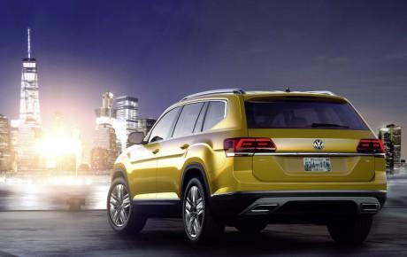 Den store SUV Atlas fra VW er kun til de andre