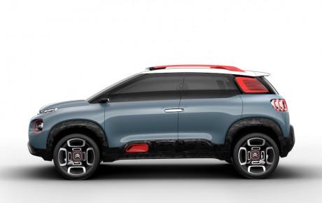 Fransk mini-SUV - Citroën C3 på stylter