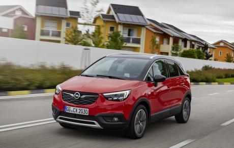Rummelig og rimelig pris - Opel Crossland X