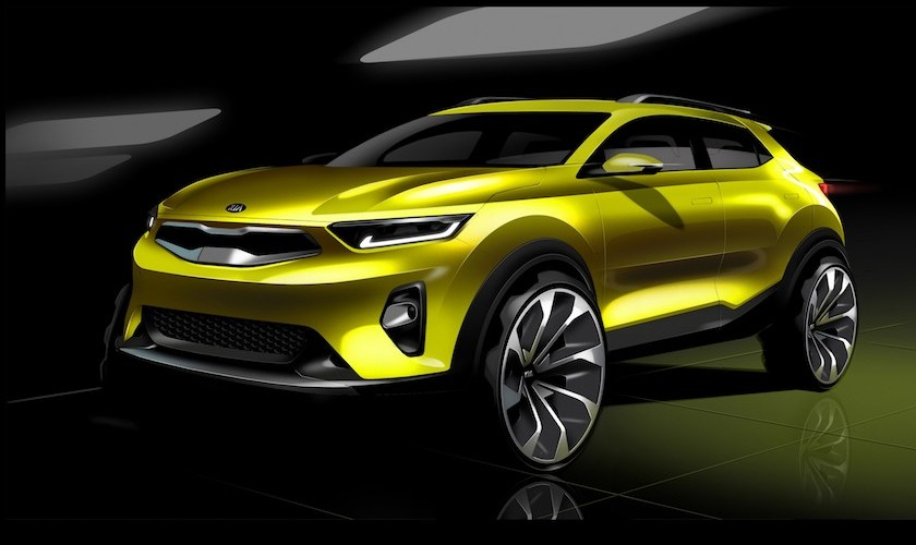 Den nye SUV fra Kia hedder Stonic