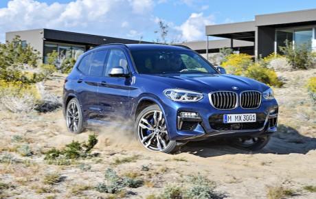 Ny BMW X3 afsløret med op til 360 hk