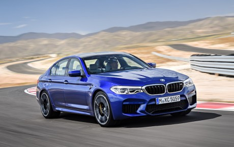 Monstret fra Bayern er landet - BMW M5 med 600 hk