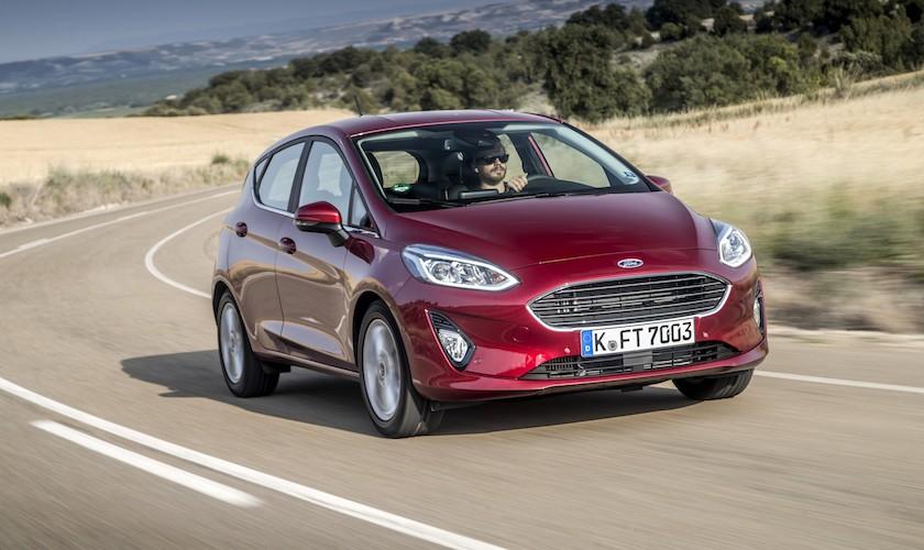Ny Fiesta på privatleasing - og alle konkurrenterne