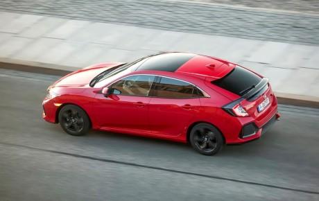Honda blandt de første med realistisk brændstofforbrug - ny Civic diesel