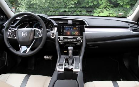 Honda Civic i endnu bedre form som sedan