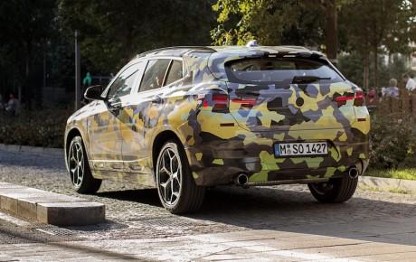 BMW X2 rører på sig i Milano - hos forhandlerne i 2018