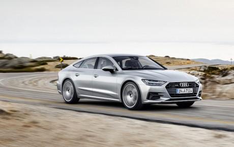 Audi A7 Sportback med avanceret teknologi fra A8
