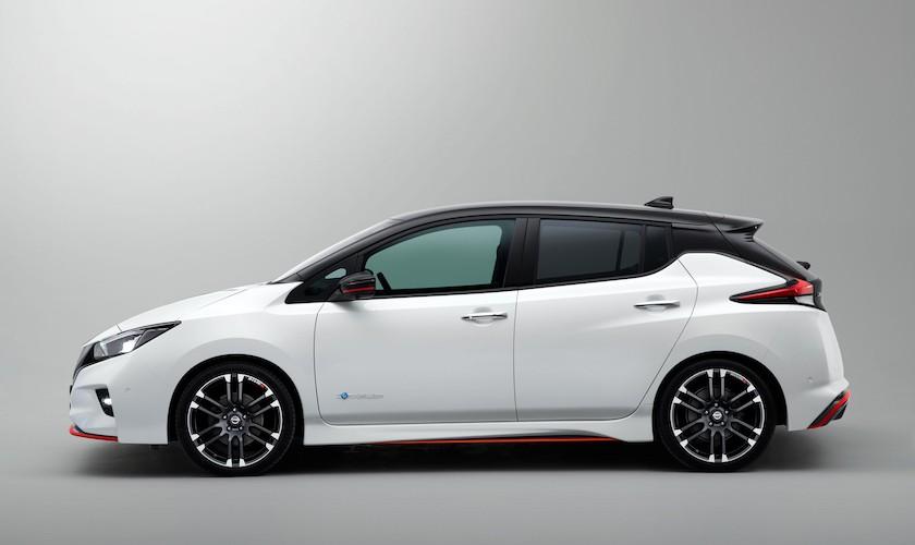 Ny Nissan Leaf Nismo - el-bil bidt af en gal GTI