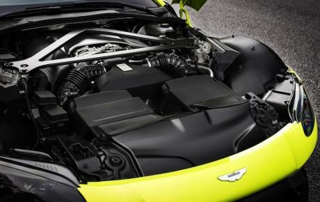 Aston Martins nye Vantage. Født som 911-dræber