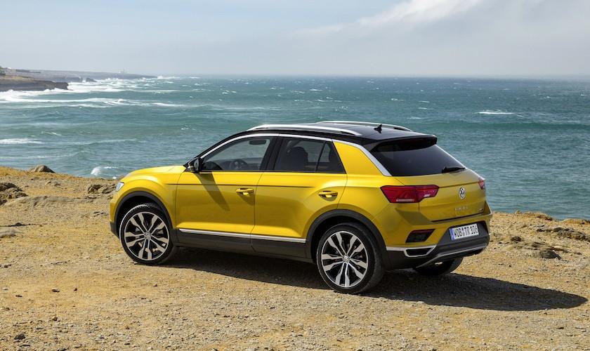 VW T-Roc fra 239.990 kr. med adaptiv fartpilot, 8