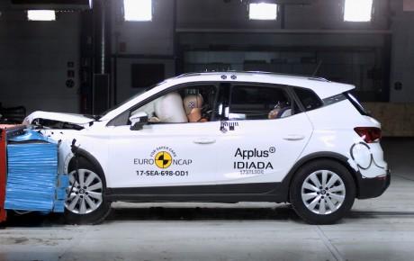 Fem stjerner til alle i Euro NCAP's seneste test
