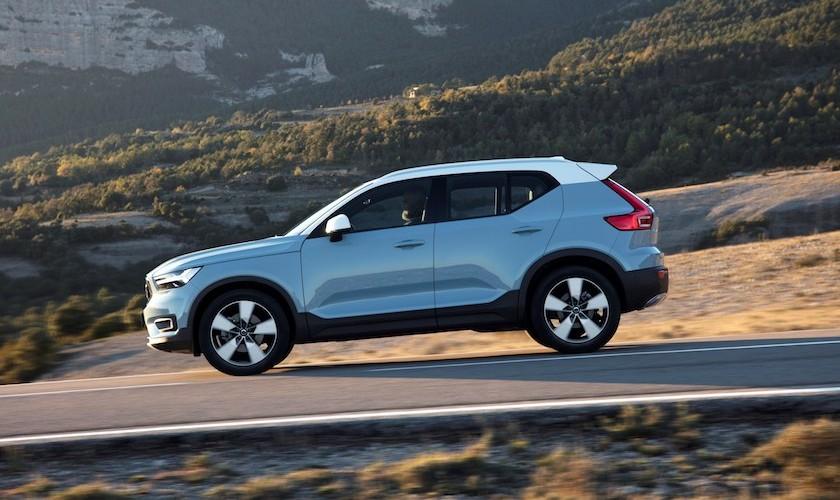 Den lille Volvo til både gården og til gaden