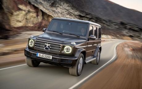 Premiere på ny Mercedes-Benz G-Klasse