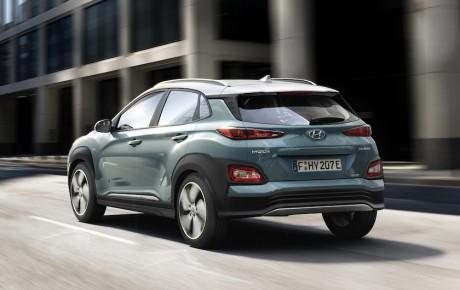 Hyundai rækker langt - den nye Kona Electric kan køre op til 470 km på en opladning