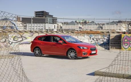 Subaru Impreza i Danmark fra april - priser fra 269.900 kr.
