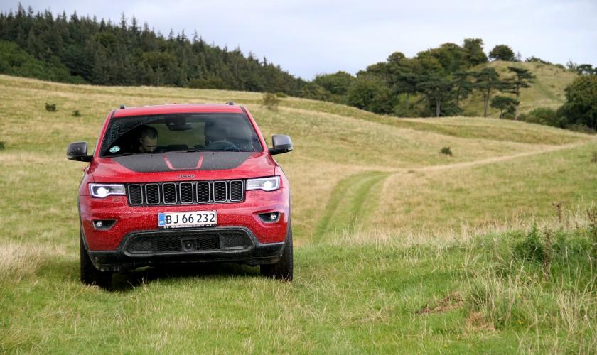 En Jeep der elsker at komme på afveje
