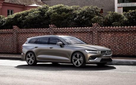 Ny Volvo V60 - firmabil fra 385.000 kr.