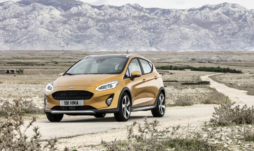 Smag af SUV - ny Fiesta Active koster fra 182.480 kr.
