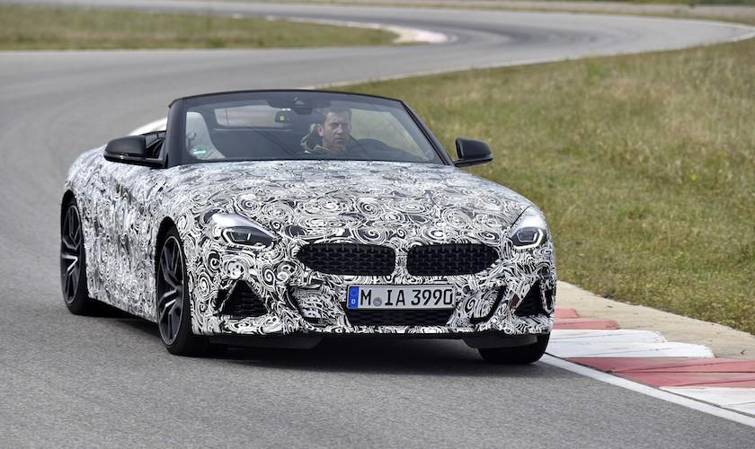 Tæt på premiere - ny BMW Z4 M40i