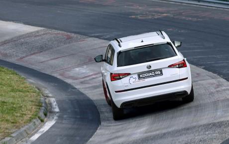 Kodiaq RS - SUV til syv for fuld udblæsning